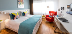 Tweepersoonskamer WestCord Hotel Delft - Westcord Hotels