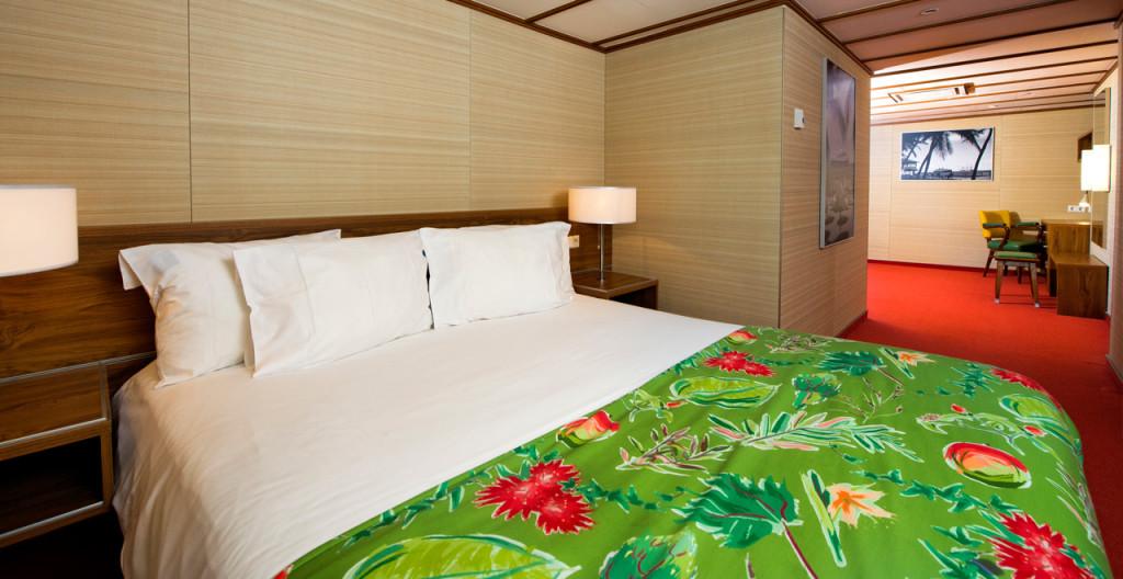 Deluxe Room Bahamas ss Rotterdam - Westcord Hotels