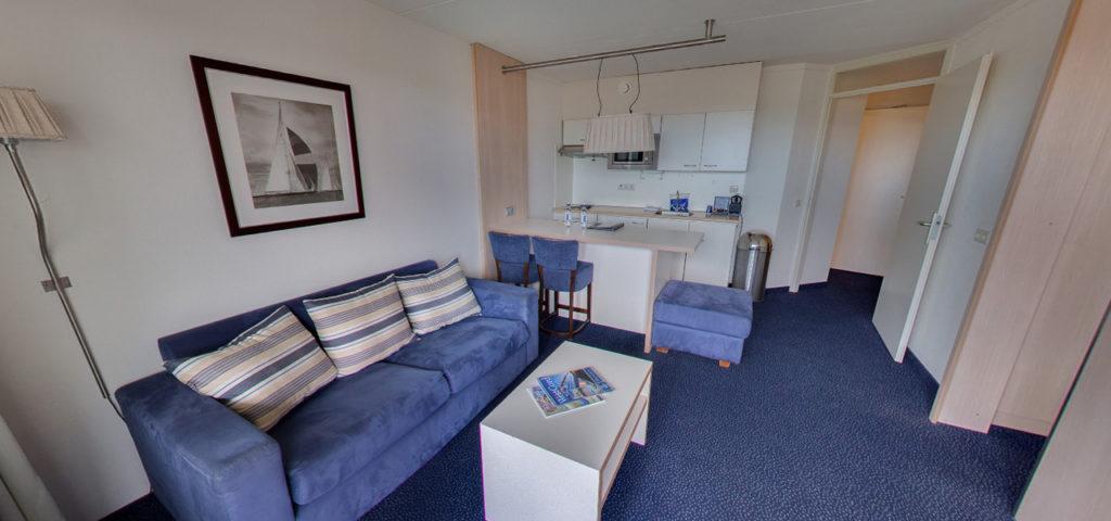 360º foto Appartement/Comfort Family Kamer WestCord Hotel Noordsee - Westcord Hotels