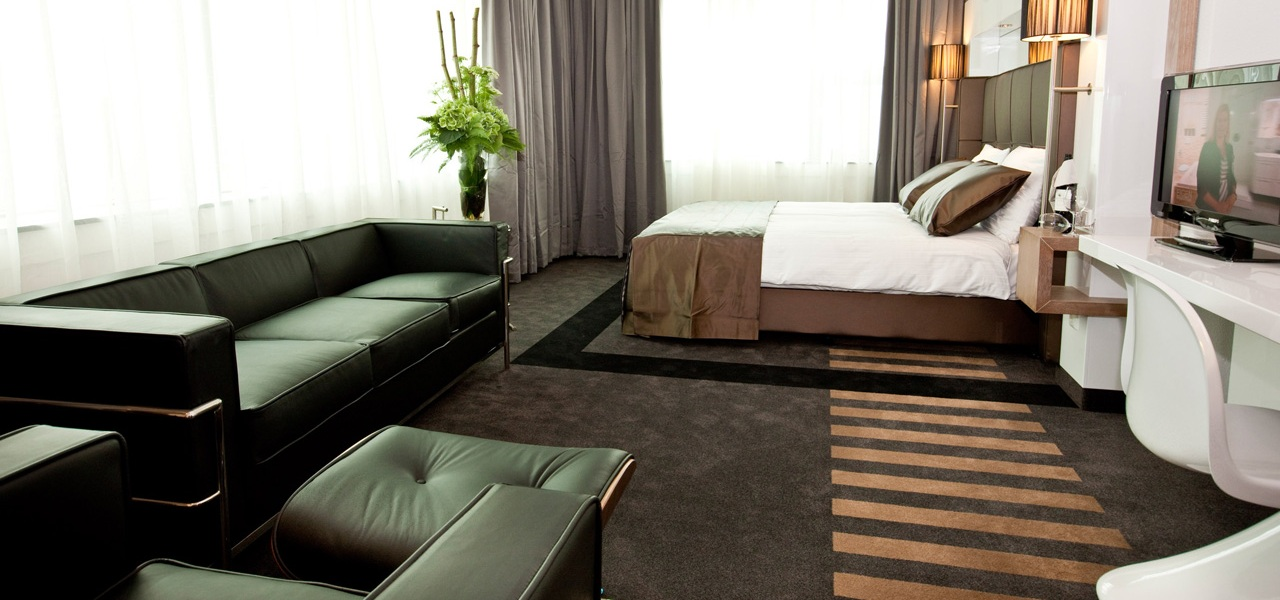 City View Deluxe Zimmer - WestCord Hotels