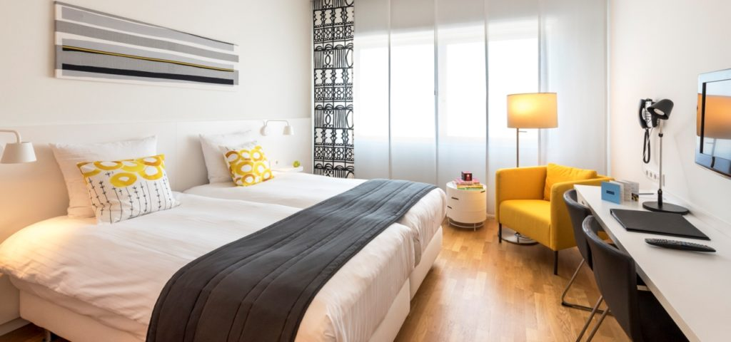 Comfort Room Graphic - Hotel Delft - Westcord Hotels