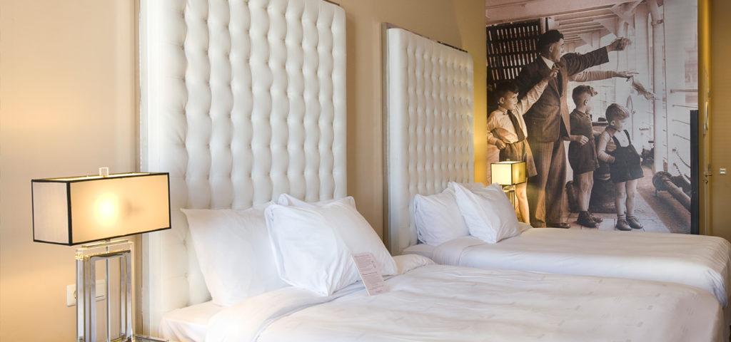 Hotelkamer Hotel New York - Westcord Hotels