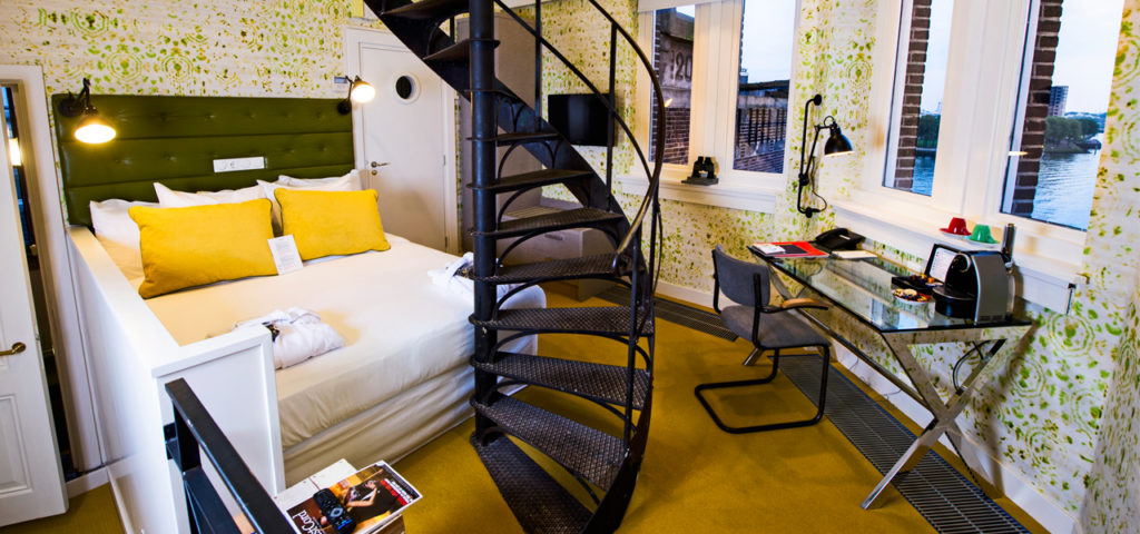 Turmzimmer Maas Seite - WestCord Hotels