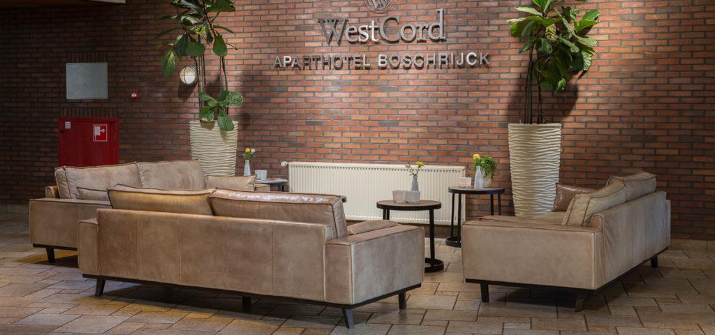Lobby WestCord ApartHotel Boschrijck - Westcord Hotels