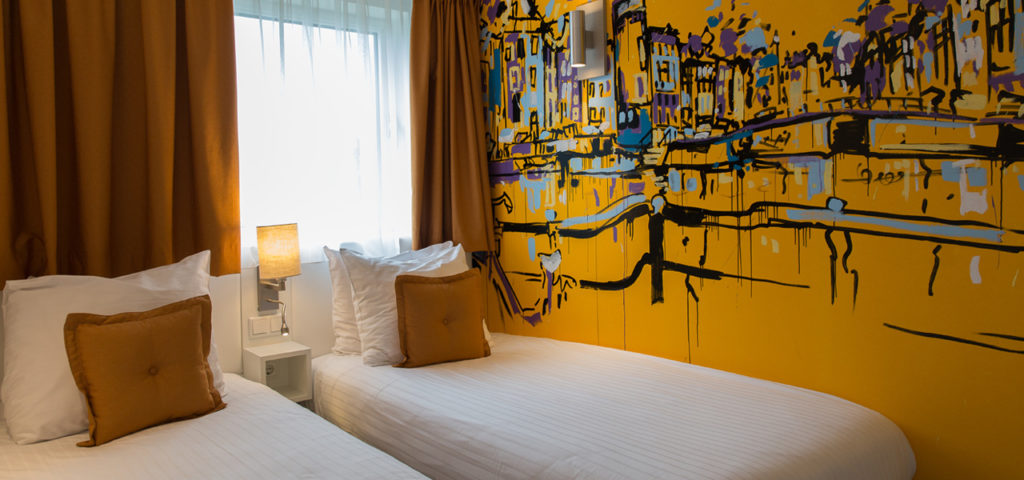 quad-deluxe-room-westcord-art-hotel-amsterdam-3 - Westcord Hotels