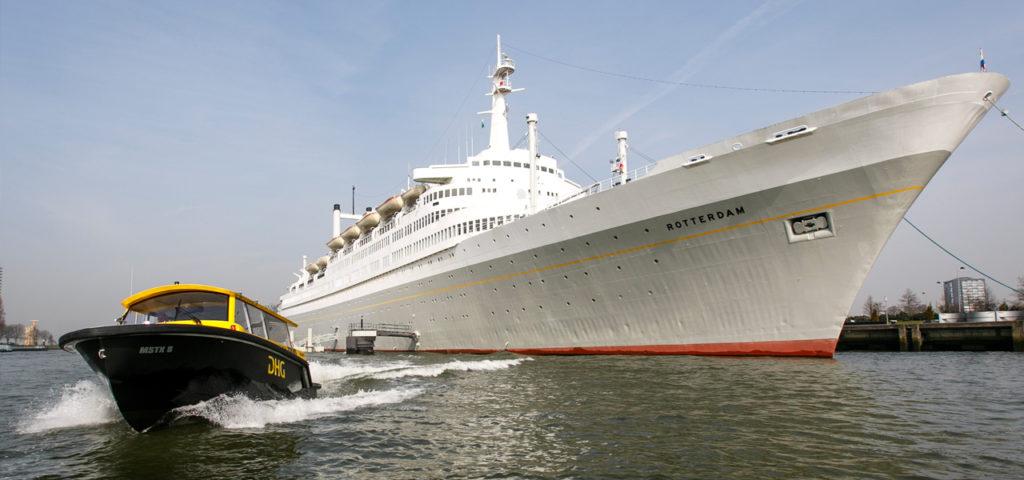 Watertaxi naar het centrum van Rotterdam - Westcord Hotels