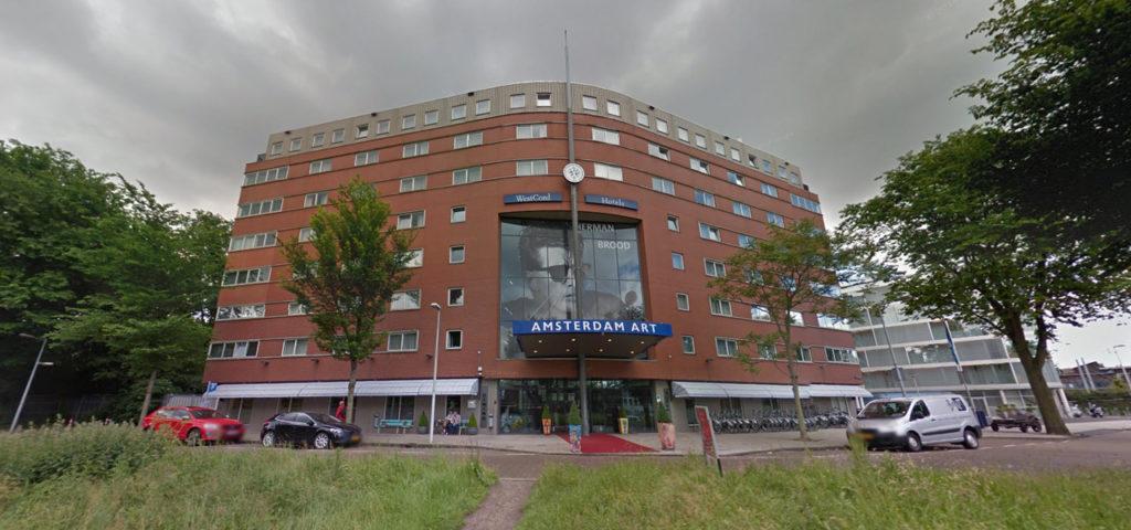 360º foto buitenzijde Art Hotel Amsterdam - Westcord Hotels
