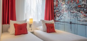 4 pers room, 2nd bedroom Art Hotel Amsterdam - Westcord Hotels