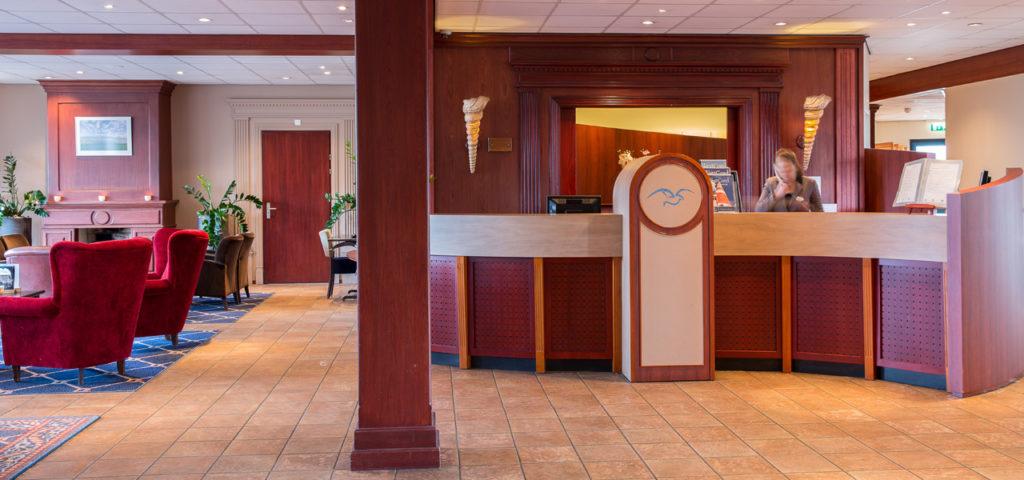 Receptie WestCord Hotel Noordsee - Westcord Hotels