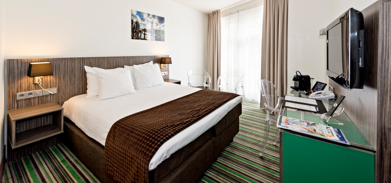 Cosy Twin/Double City View Zimmer - WestCord Hotels