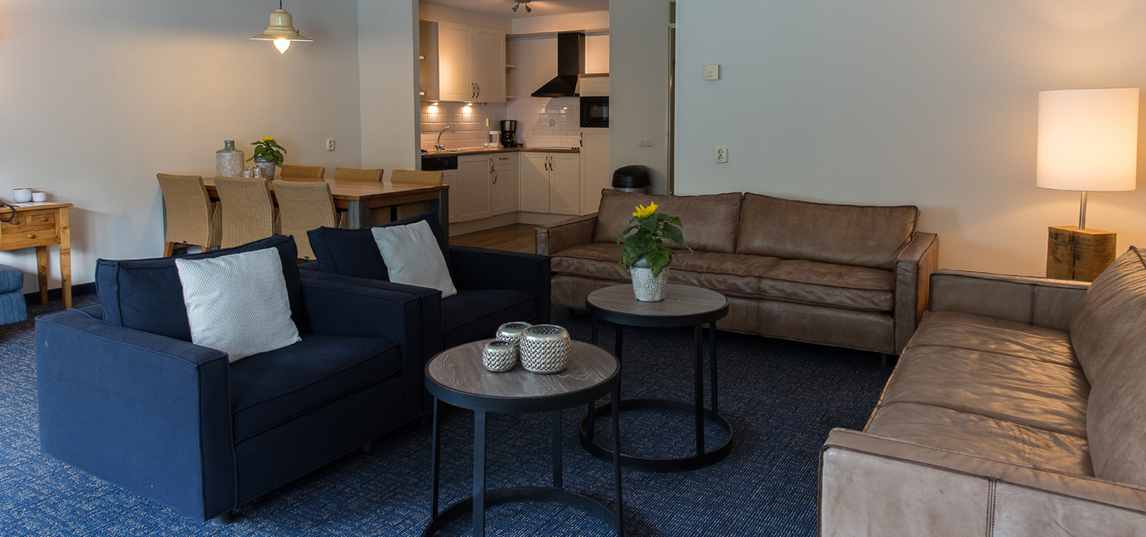 Apartment Large + Schlafsofa - WestCord Hotels