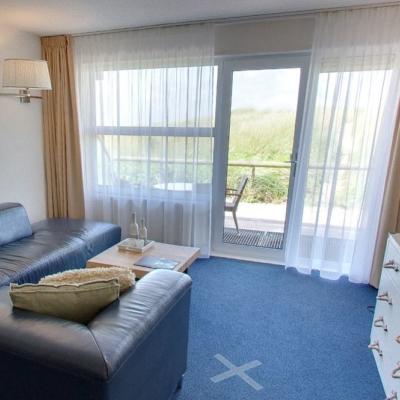 360º foto Vierpersoonskamer Strandhotel Seeduyn