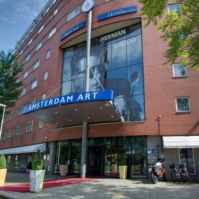 360º foto buitenzijde Art Hotel Amsterdam