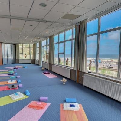 360º foto Noordzee Zaal Yoga Strandhotel Seeduyn