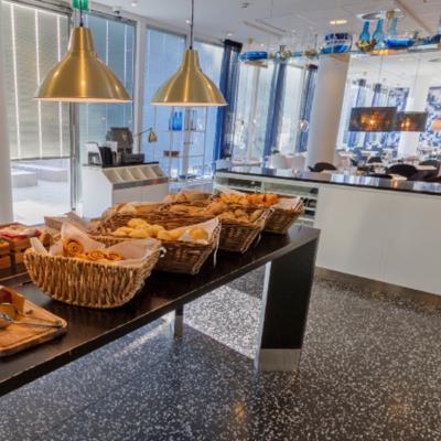 360º foto ontbijtrestaurant WestCord Hotel Delft