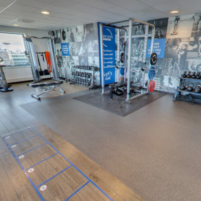 360º foto fitness WestCord WTC Hotel Leeuwarden