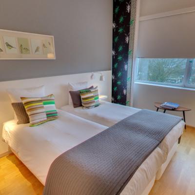 360º foto Tweepersoonskamer 'Groen' WestCord Hotel Delft