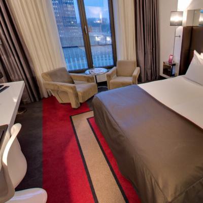 360º foto Large Fashion Twin Room Fashion Hotel Amsterdam