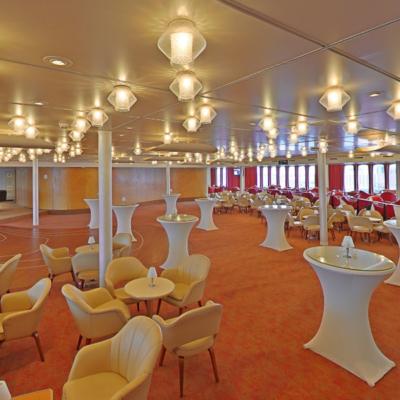 360º foto Queen's Lounge ss Rotterdam
