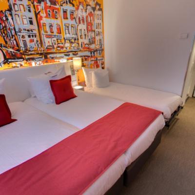 360º foto Triple Deluxe Room Art Hotel Amsterdam ***
