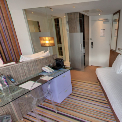 360º foto Triple Kamer met city view WestCord City Centre Hotel Amsterdam