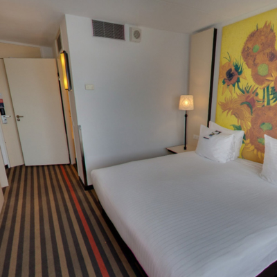 360º foto Twin/Double Deluxe Room Art Hotel Amsterdam ***