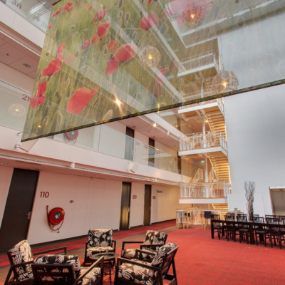 360º foto zaal 'Atrium' WestCord Hotel Delft